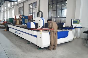 激光切割机的运用让洗涤机械的做工完美
