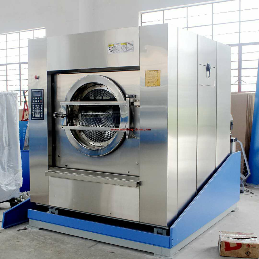 沃信科凌倾斜式自动出料洗脱机节省人工 工作效率高